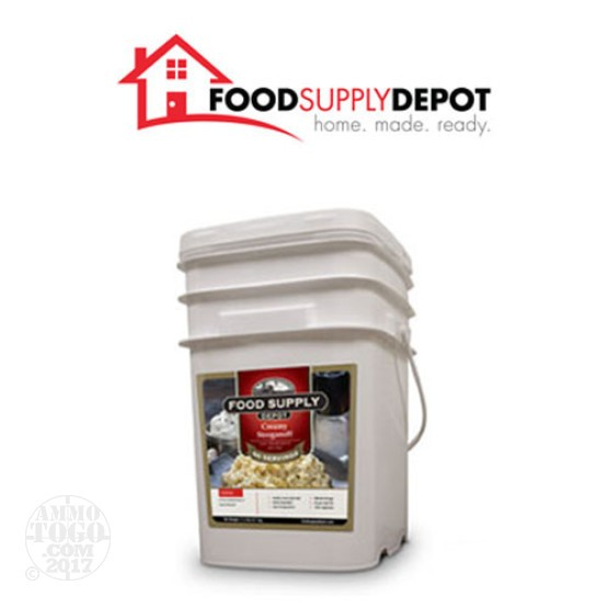 1 - Food Supply Depot Creamy Stroganoff Bucket 60 Servings