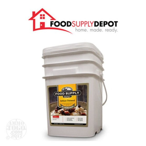 1 - Food Supply Depot Artisan Oatmeal Bucket 80 Servings