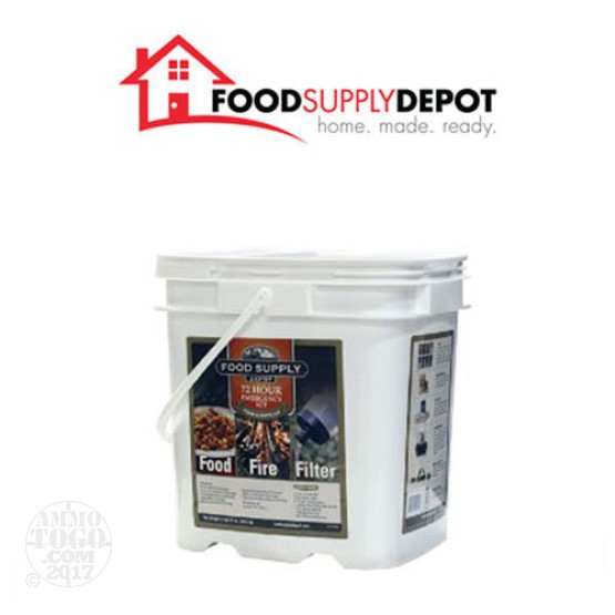 1 - Food Supply Depot 72 Hour Food, Fire, and Filter Bucket