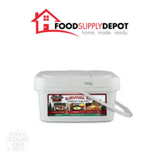 1 - Food Supply Depot 72 Hour Sportsman's Survival Kit Bucket 1 Person