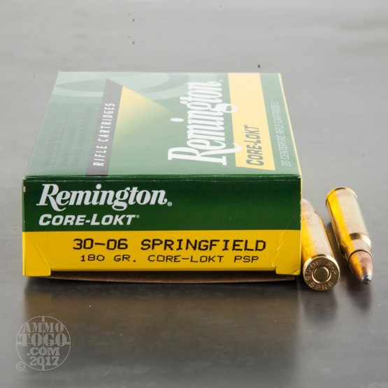 20rds - 30-06 Remington Express Core-Lokt 180gr. PSP Ammo