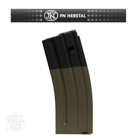 1 - FNH SCAR 16S 5.56mm 223 Rem. 30rd. Magazine FDE Color
