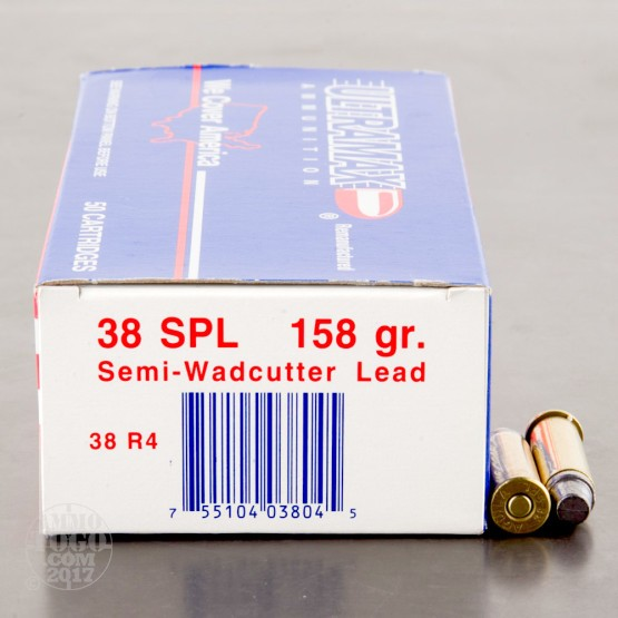 50rds - 38 Special Ultramax 158gr. LSWC Ammo