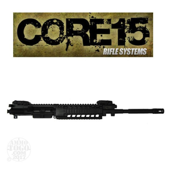 "1 - Core 15 .223/5.56 NATO TAC M4 Piston 16"" Barrel Twist 1x7 Complete Upper"