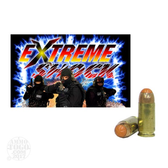 20rds - 9mm Extreme Shock 70gr. Air Freedom Rounds (AFR)