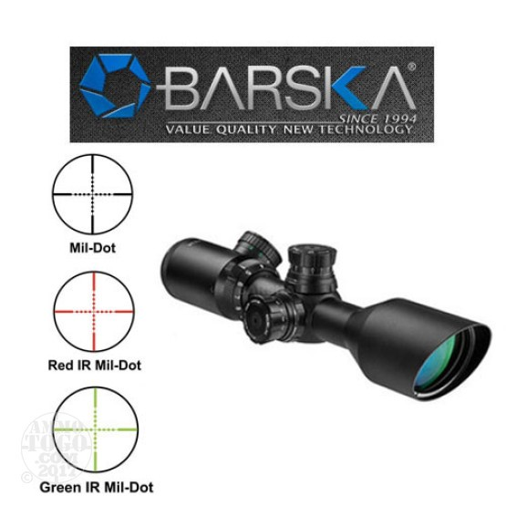 1 - Barska 3-9x42 IR 2nd Generation Sniper Scope