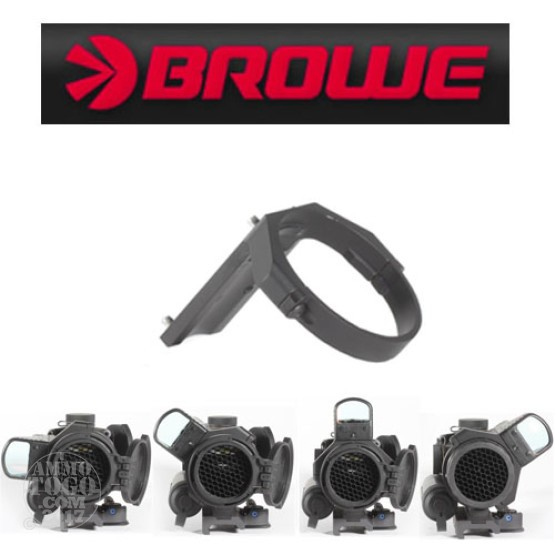 1 - Browe 4x32 BCO Mini Red Dot (MRD) Adapter Black Color