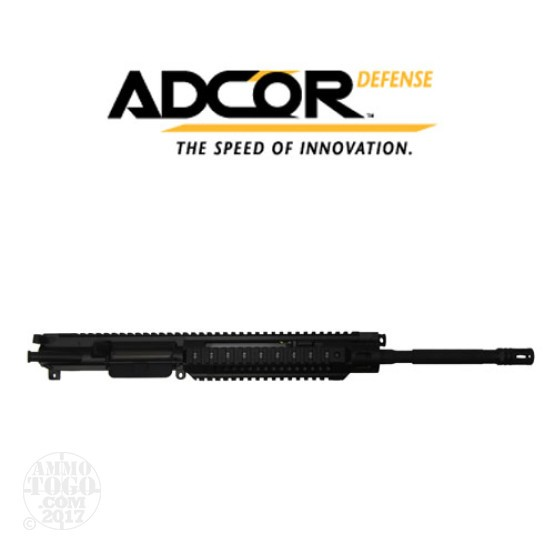 "1 - Adcor Defense Complete 5.56mm 16.1"" 1/7"" Twist Rate Upper Receiver Assembly"