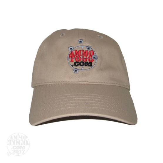 1 - GameGuard Khaki Fishing Cap With Ammo To Go Logo