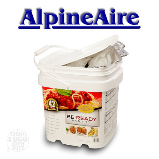 1 - AlpineAire Be Ready Pantry 42 Meal Emergency Food Supply