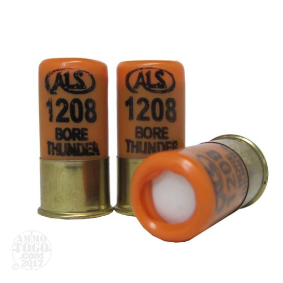 5rds - 12 Gauge Bore Thunder Flash Bang Ammo