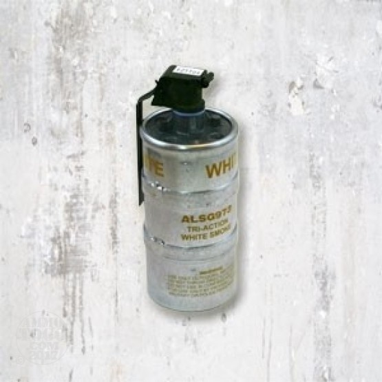 1 - U.S. Mil-Spec Triple Action WHITE Smoke Grenade