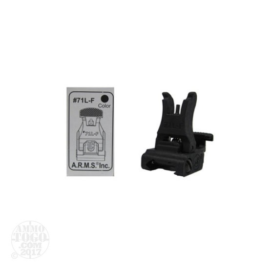 1- ARMS #71 Black Polymer Low Profile Front Sight
