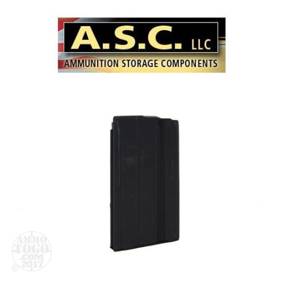 1 - ASC AR-15 6.8 SPC 17rd. Black Stainless Steel Magazine