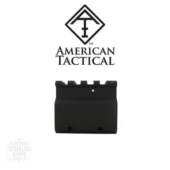 "1 - American Tactical Imports Railed .750"" Dia Clamp-on Gas Block"