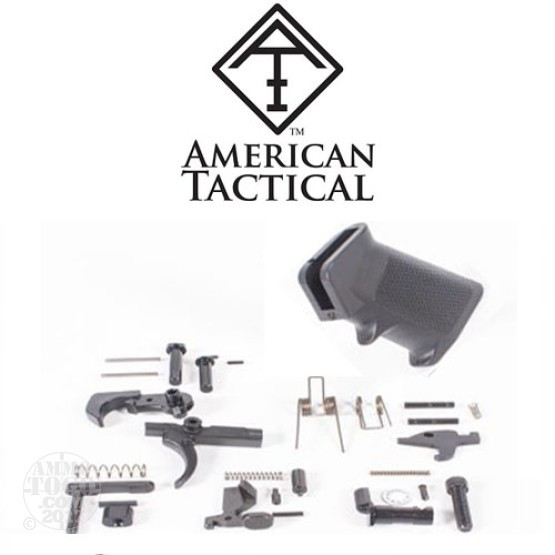 1 - ATI AR15 Lower Receiver Parts Kit No Trigger Guard