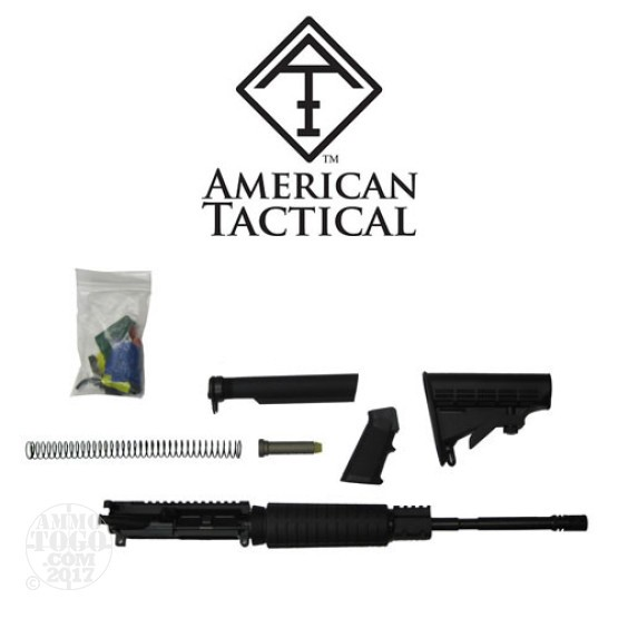 "1 - American Tactical Imports 5.56 Rifle Kit w/ 16"" Complete Forged AR-15 Upper Receiver with BCG"
