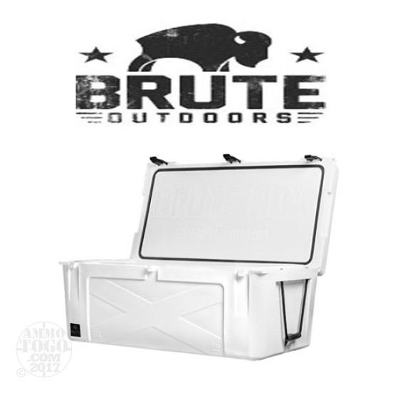 1 - Brute Box 150 Quart Cooler White