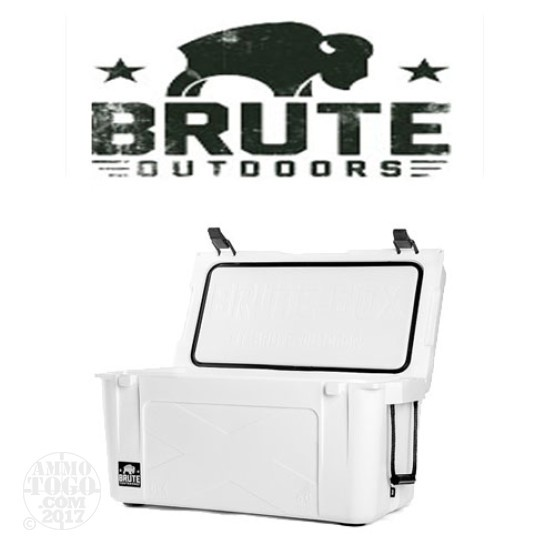 1 - Brute Box 50 Quart Cooler White