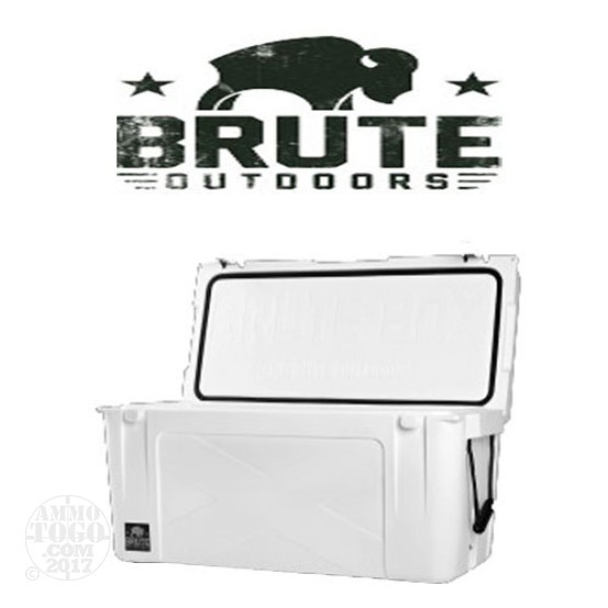 1 - Brute Box 75 Quart Cooler White
