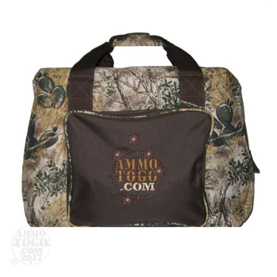1 - GameGuard Cooler Bag Camo/Brown With Ammo To Go Logo