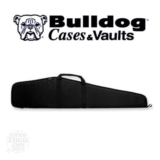 "1 - Bulldog 44"" Pit Bull Scoped Rifle Case Black"