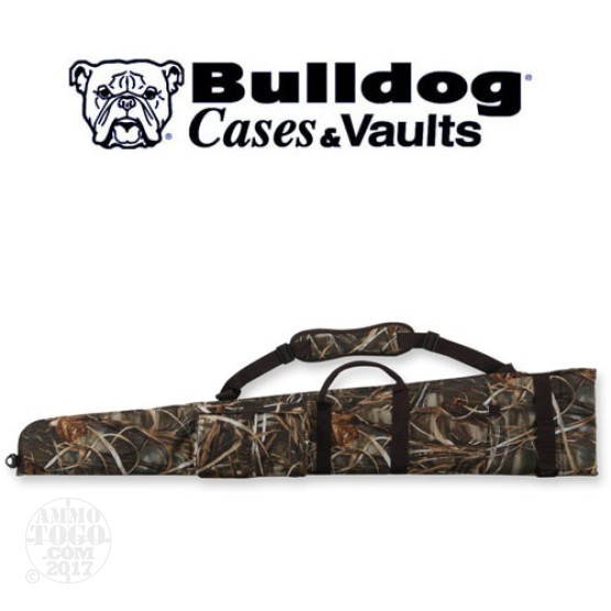 "1 - Bulldog 52"" Max IV Camo Floating Shotgun Case"