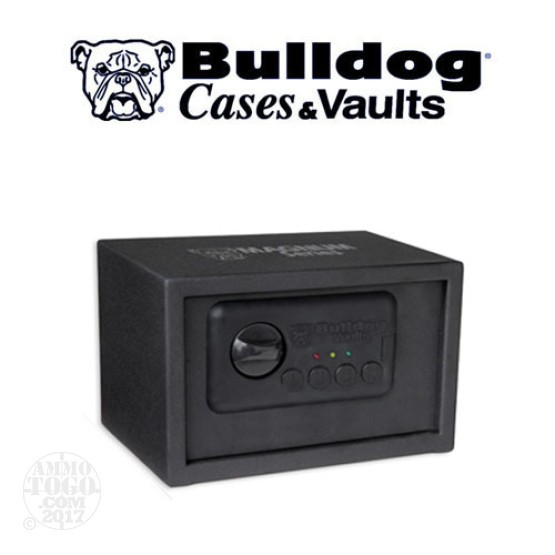 "1 - Bulldog Magnum Digital Vault 7.25"" x 11"" x 8"" Black"