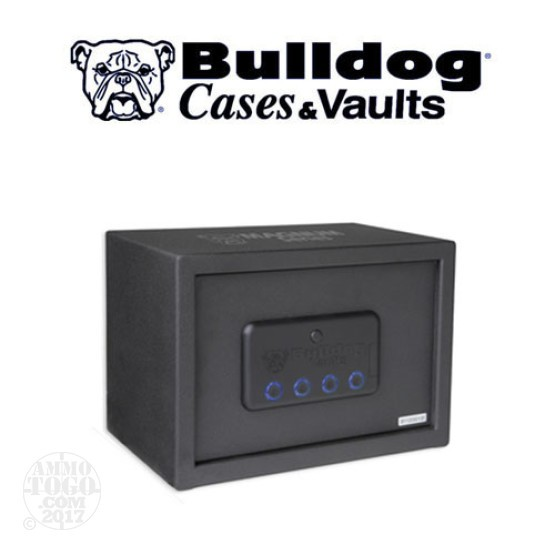 "1 - Bulldog Magnum LED Vault 9.75"" x 13.75"" x 9.75"" Black"