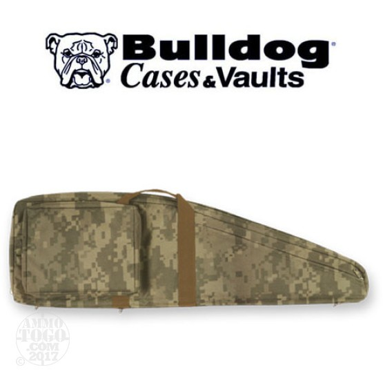 "1 - Bulldog 43"" Double Tactical Case Digital ACU Camo"