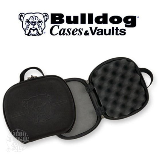 "1 - Bulldog 7.5"" x 9"" EVA Molded Pistol Case Black"