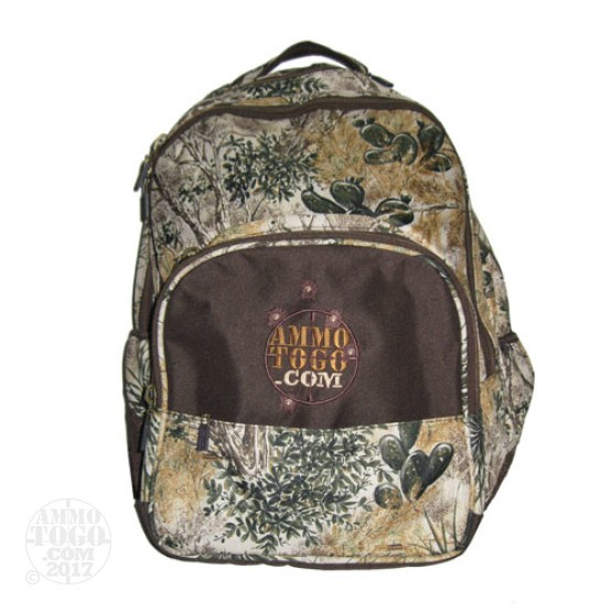 1 - GameGuard Day Pack Camo/Brown With Ammo To Go Logo