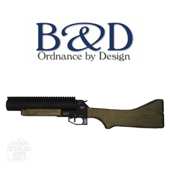 "1 - B&D TBL-37 T12-WSW 37mm Launcher 12"" Wood Stock"
