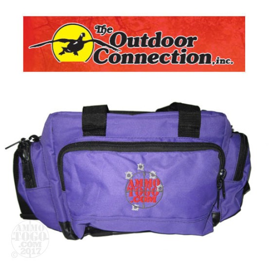 1 - The Outdoor Connection Deluxe Ammo To Go Range Bag Purple Color