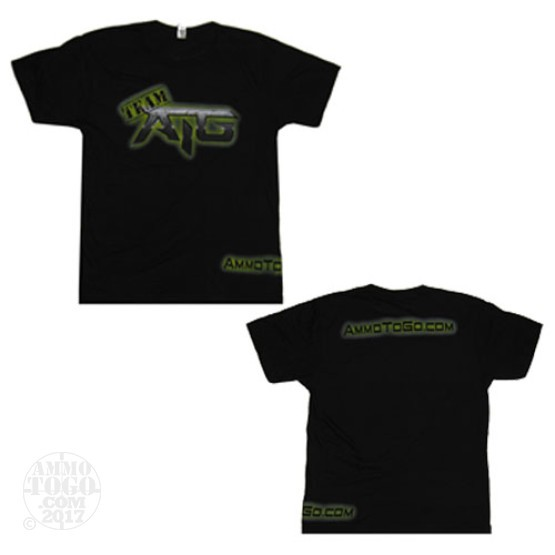 1 - Black Ammo To Go Team ATG T-Shirt (Small)