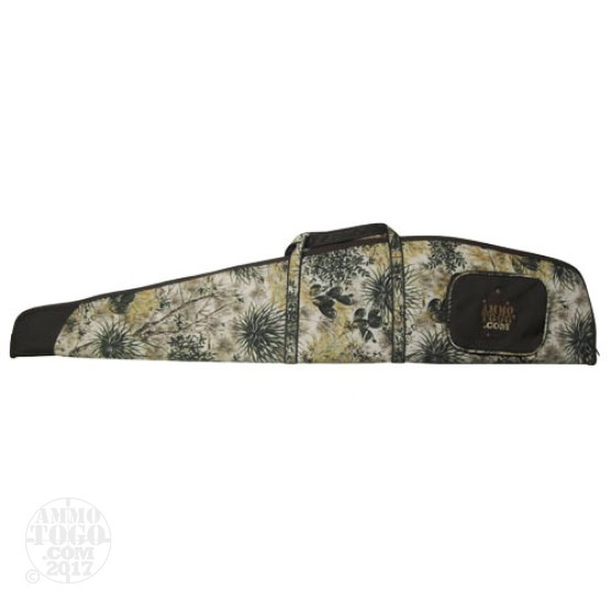 "1 - GameGuard Rifle Case 48"" Camo/Brown With Ammo To Go Logo"
