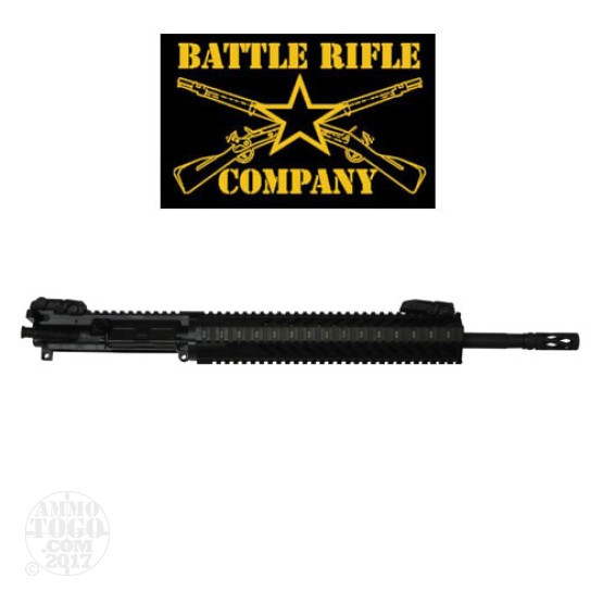 "1 - Battle Rifle Company .223/5.56 HBAR 16"" 1:7 Barrel Complete AR-15 Upper Receiver"