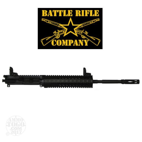 "1 - Battle Rifle Company 7.62x39 M4 16"" 1:10 Barrel Complete AR-15 Upper Receiver"