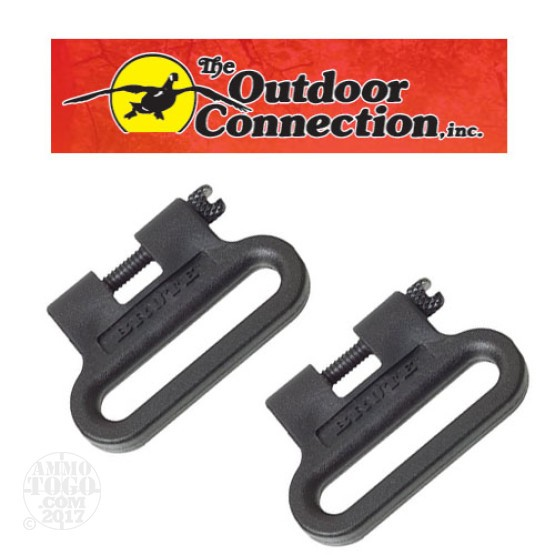 "1 - Outdoor Connection Brute Sling Swivel EZ Detachable 1.25"" Wide"