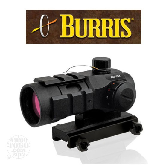 1 - Burris AR-132 1X Tactical Sight 4 MOA Red or Green Dot