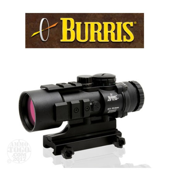 1 - Burris AR-536 5x36mm Tactical Prism Sight Ballistic CQ Matte Black