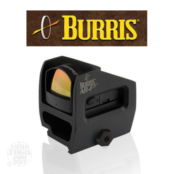 1 - Burris AR-F3 Flattop Fastfire Red Dot Sight 3 MOA