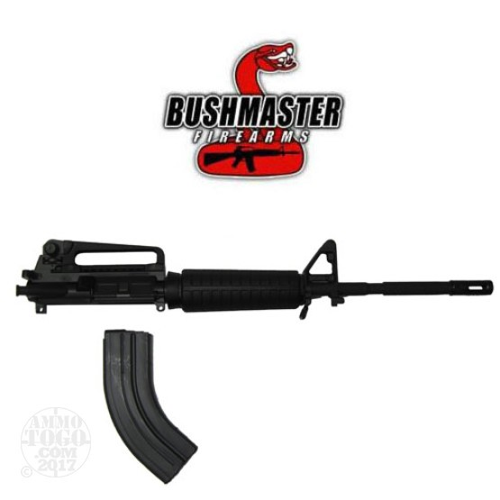 "1 - Bushmaster 7.62X39 Complete Upper A3 Receiver 16"" M4 Barrel Assembly"