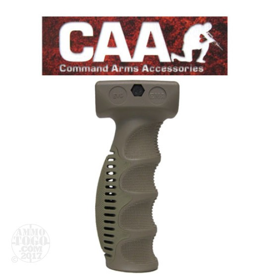 1 - CAA Ergonomic Vertical Forend Grip Tan