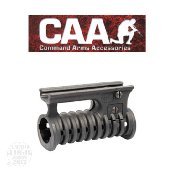 1 -  CAA OFEK 1 Horizontal Forearm Grip/Flashlight Adaptor Black