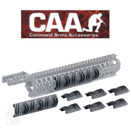 1 - CAA 8-Piece X6 Thermal Rail Cover OD Green