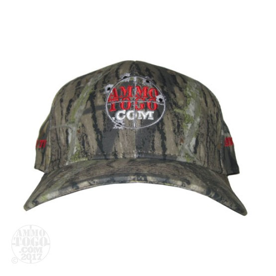 1 - Camo Mossy Oak Ammo To Go Logo w/ Reticle Proflex Fitted Cap (Large/XL)