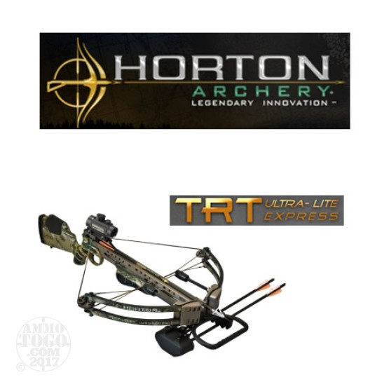 1 - Horton Archery TRT Ultra-Lite Express Crossbow 2010 Red Dot with Free Shipping