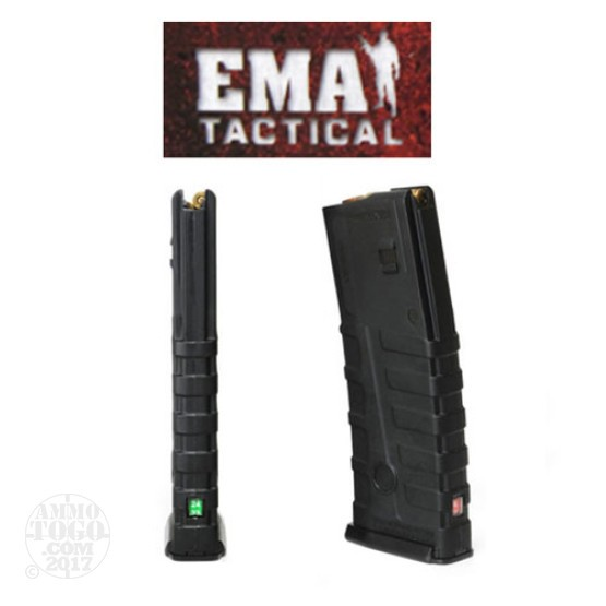 1 - EMA Tactical Countdown 5.56 AR-15/M16 30rd. Magazine Black