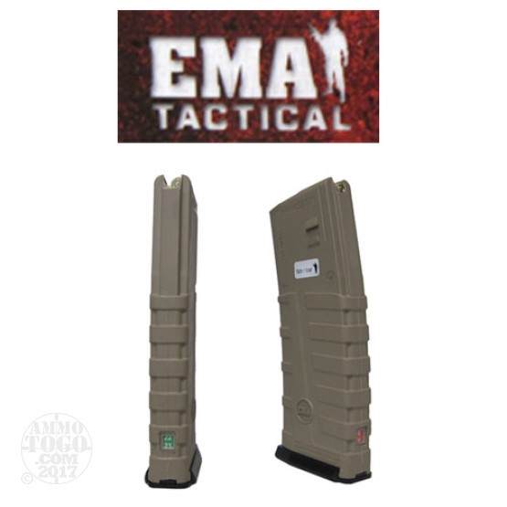 1 - EMA Tactical Countdown 5.56 AR-15/M16 30rd. Magazine Tan